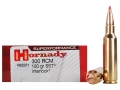 Hornady SUPERFORMANCE SST Ammunition 300 Ruger Compact Magnum (RCM) 150 Grain SST Box of 20