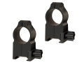 Warne 1&quot; Tactical Picatinny-Style Rings Matte Extra-High