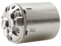 Howell&#39;s Old West Conversions Drop-In Conversion Cylinder 44 Caliber Pietta 1858 Remington Steel Frame Black Powder Revolver 45 Colt (Long Colt) 6-Round Stainless Steel