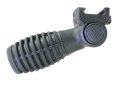 Mako Quick Detach 7-Position Horizontal Side-To-Side Stubby Vertical Forend Grip Polymer Black