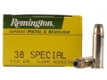 Product detail of Remington Express Ammunition 38 Special 110 Grain Semi-Jacketed Hollow Point Box of 50