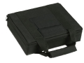 "Bulldog Hard-Sided 2 Pistol Gun Case With Locking Zipper 11' x 9"" Nylon Black"