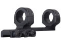"Product detail of DNZ Products Freedom Reaper Forward Ring 1-Piece Scope Base with 1"" Integral Rings AR-15 Flat-Top Matte"