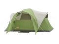 "Coleman Montana 6 Man Modified Dome Tent 144"" x 84"" x 68"" Polyester Green and White"