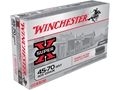 Winchester Super-X Cowboy Action Ammunition 45-70 Government 405 Grain Lead Flat Nose Box of 20