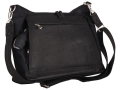Gun Tote'N Mamas Large Hobo Handbag Leather Black