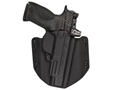 Comp-Tac Flatline Convertible Belt and Inside the Waistband Holster Glock 43 Kydex Black