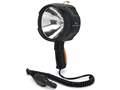 Cyclops 1400 Lumen Handheld Spotlight Halogen 12V Plug-In Polymer Black