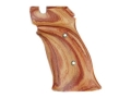 Hogue Fancy Hardwood Grips S&amp;W 41 Right Hand Thumb Rest Tulipwood
