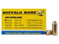 Product detail of Buffalo Bore Ammunition 460 Rowland 185 Grain Jacketed Hollow Point Box of 20