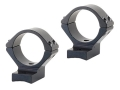 Talley Lightweight 2-Piece Scope Mounts with Integral 30mm Rings Browning Titanium Matte Low
