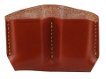 Gould & Goodrich Double Magazine Pouch Double Stack Magazines Leather Brown