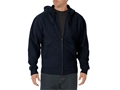 Dickies Midweight Fleece Full Zip Hoodie Cotton Polyester Blend