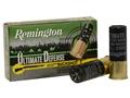"Remington Ultimate Defense Ammunition 12 Gauge 2-3/4"" 00 Buckshot 8 Pellets Box of 5"
