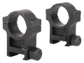 Trijicon 1&quot; Accupoint Steel Picatinny-Style Rings Matte Extra High
