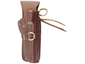 "Triple K 114 Cheyenne Western Holster Right Hand S&W N-Frame 6.5"" Barrel Leather Brown"