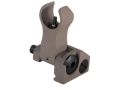 Troy Industries Front Flip-Up Battle Sight HK-Style AR-15 Handguard Height Aluminum Flat Dark Earth