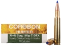 Cor-Bon DPX Hunter Ammunition 30-06 Springfield 168 Grain Tipped DPX Lead-Free Box of 20