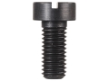 "Forster Slotted Flat .228"" Diameter Head Screws 6-48 x 5/16"" Blue Package of 10"