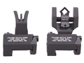 Troy Industries Medium Flip-Up Battle Sight Set M4-Style Front, Diopter Rear AR-15 Aluminum