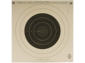 NRA Official Smallbore Rifle Training Target TQ-4 100 Yard Tagboard Package of 100