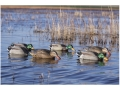 GHG Pro-Grade Weighted keel Mallard Duck Decoys Surface Feeder Pack of 6