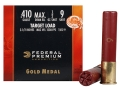 Product detail of Federal Premium Gold Medal Target Ammunition 410 Bore 2-1/2&quot; 1/2 oz #9 Shot Box of 25