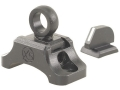 Product detail of XS Ghost-Ring Hunting Sight Set Winchester 94 Angle-Eject with Front Ramp Steel Matte