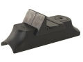 NECG Classic Express Rear Sight with Island Base 1-Leaf Small for .600&quot; to .675&quot; Diameter Barrel Steel Blue
