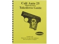 Radocy Takedown Guide &quot;Colt Auto25 Hammerless&quot;
