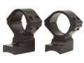 Talley Lightweight 2-Piece Scope Mounts with Integral Extended Rings Winchester 70 Post-64 with .330 Rear Mount Hole Spacing Matte