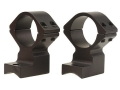 Talley Lightweight 2-Piece Scope Mounts with Integral 1&quot; Rings Savage 10 Through 16, 110 Through 116 Round Rear, Axis Matte Extra-High