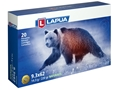 Lapua Naturalis Ammunition 9.3x62mm Mauser 220 Gr Round Nose Lead-Free Box of 20