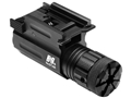 NcStar 5mw Compact Green Laser Sight with Integral Quick Release Weaver-Style Mount Black