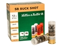 "Sellier & Bellot Ammunition 12 Gauge 2-3/4"" 00 Buckshot 9 Pellets"