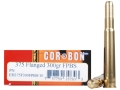 Cor-Bon Expedition DPX Hunter Ammunition 375 Flanged Magnum 300 Grain Barnes Banded Solid Flat Point Box of 10