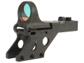 C-More Serendipity Reflex Sight 8 MOA Red Dot with Click Switch and Integral Mount 1911, Browning Hi-Power, CZ 75, 85 Polymer Matte