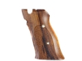Hogue Fancy Hardwood Grips S&amp;W 41 Checkered Rosewood