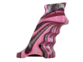 Product detail of Volquartsen Laminated Wood Target Grips Ruger Mark II Left Hand Pink