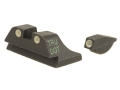 Product detail of Meprolight Tru-Dot Sight Set Ruger P90, P91, P93, P95 Steel Blue Tritium Green