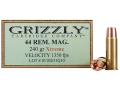 Grizzly Self-Defense Ammunition 44 Remington Magnum 240 Grain Xtreme Copper Hollow Point Lead-Free Box of 20