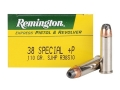 Remington Express Ammunition 38 Special +P 110 Grain Semi-Jacketed Hollow Point Box of 50