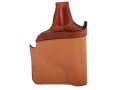 Bianchi 152 Pocket Piece Pocket Holster Right Hand Ruger LCR Leather Brown