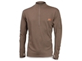 Product detail of First Lite Men's Chama QZ 1/4 Zip Shirt Long Sleeve Merino Wool
