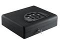 "GunVault MicroVault XL Personal Electronic Safe 12"" x 10-1/4"" x 3-1/2"" Black"