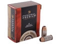Product detail of Federal Premium Personal Defense Ammunition 45 ACP 230 Grain Hydra-Shok Jacketed Hollow Point Box of 20