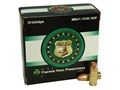 Copper Only Projectiles (C.O.P.) Ammunition 9mm Luger +P 115 Grain Solid Copper Hollow Point Lead-Free Box of 25