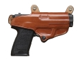 Hunter 5700 Pro-Hide Holster for 5100 Shoulder Harness Right Hand HK USP Compact 9mm Luger, 40 S&W Leather Brown