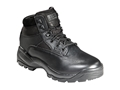 "5.11 ATAC 6"" Side Zip Uninsulated Tactical Boots Leather and Nylon Black Men's 10-1/2 EE"