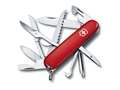 Victorinox Swiss Army Fieldmaster Folding Pocket Knife 15 Function Stainless Steel Blade Polymer Handle Red
